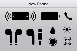 Specifications of iPhone 7 icon