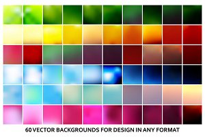 60 Creative vector background