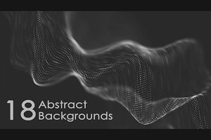 18 Abstract Backgrounds