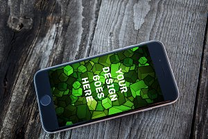 iPhone Screen Mock-up 2