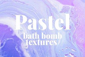 Pastel Bath Bomb Textures