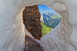 Dolomities- view from Sass pordoi