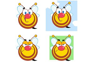 Cute Bees Collection