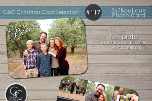 Christmas Photo Card Selection #117