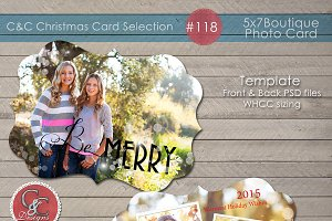 Christmas Photo Card Selection #118