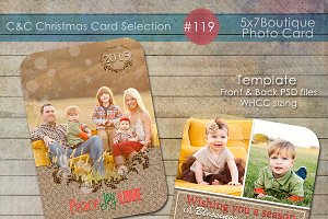 Christmas Photo Card Selection #119