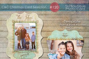 Christmas Photo Card Selection #120