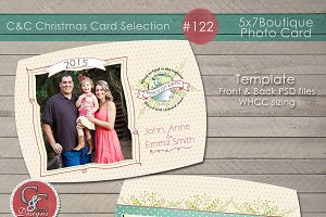 Christmas Photo Card Selection #122