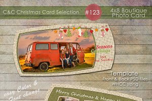 Christmas Photo Card Selection #123