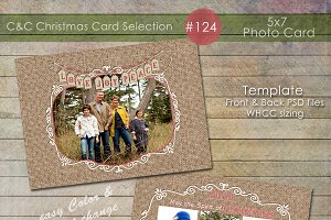 Christmas Photo Card Selection #124