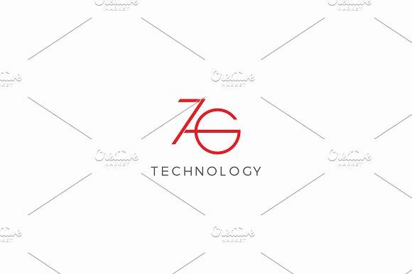 ZG or 7G Logo