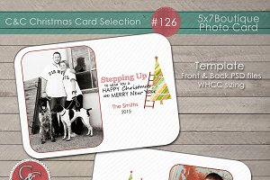 Christmas Photo Card Selection #126