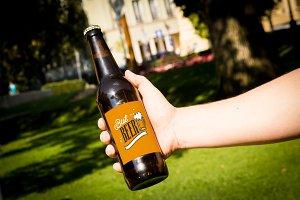 Beer Mockup #13