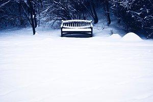 snowy seat.