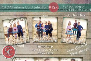 Christmas Photo Card Selection #127