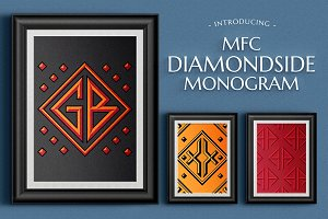 MFC Diamondside Monogram