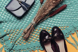 shoes and clutches. Fall Fashion