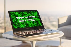 Laptop Screen Mock-up 3