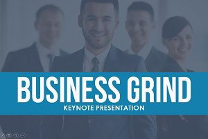 Business Grind Keynote Template