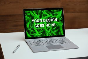 Laptop Screen Mock-up 4