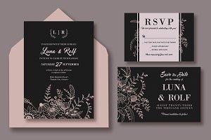 Line Bouquet Wedding Suite