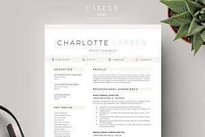 Modern Resume & CoverLetter Template