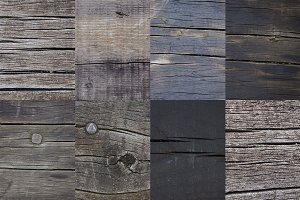 8 Dark Wood Textures Backgrounds
