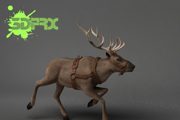 3D Animals: 3DFRX - REINDEER (Rigged&Posed)