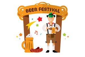 Beer Festival in Germany