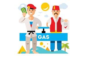 Gas pipeline Russia - Turkey