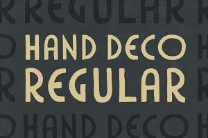 HandDeco Regular