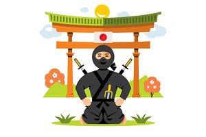 Ninja and dojo