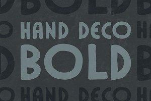 HandDeco Bold