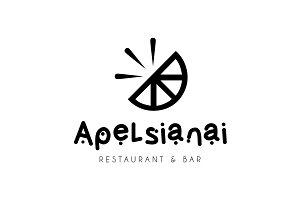 Apelsinai Logo Design