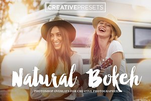 25 Natural Bokeh Overlays