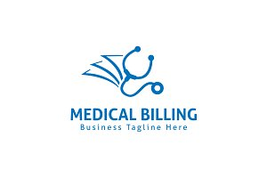 Medical Billing Logo Template