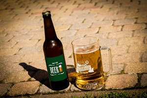Beer Mockup #16