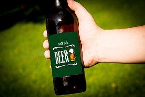 Beer Mockup #15