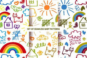 Baby patterns set