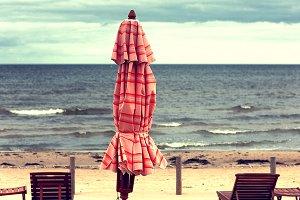 Jurmala. Baltic beach