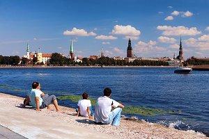 Summer. Riga, Latvia