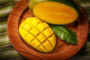 Mango cube