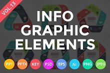 Infographic Elements Vol.13