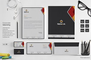 Corporate Identity Stationery Pack