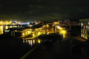 Industrial glow