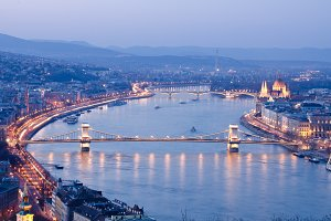 Budapest at the most beautiful time