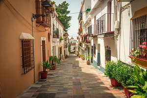 Streets of Marbella