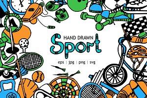 Doodle SPORT Vector Set