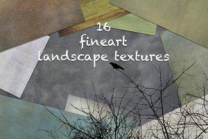 16 fineart landscape textures