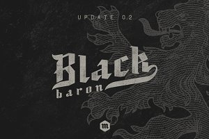 Black Baron - Blackletter Typeface
